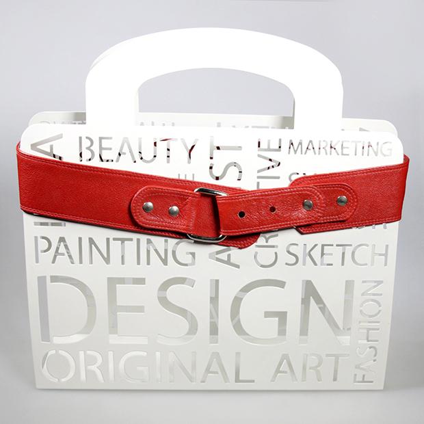 red-design-belt